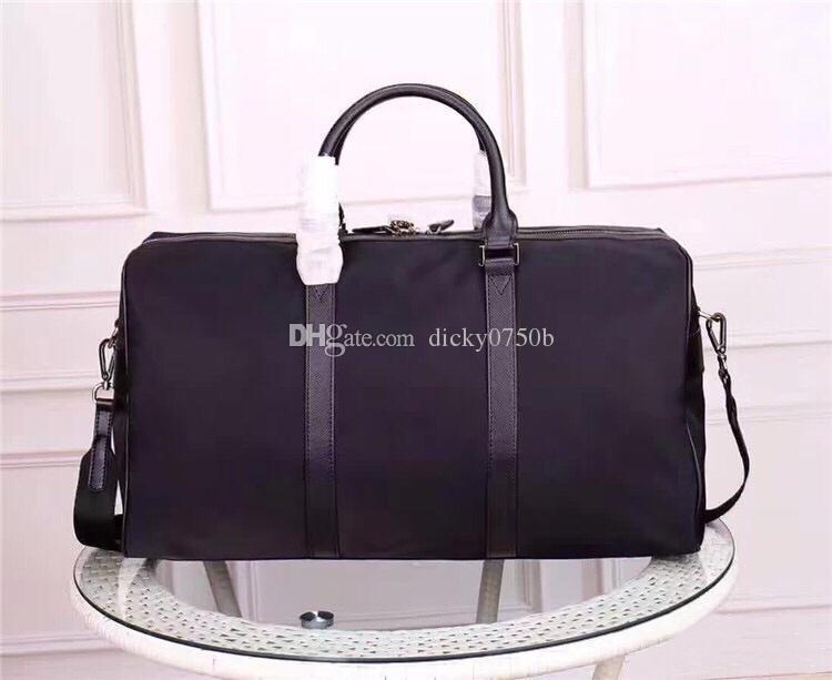 Venta al por mayor Hombres Equipaje Totes Totes Mens Designer Bag Travel para la bolsa clásica Diseñador de cuero Duffle Fashion Handbag Oqhqe