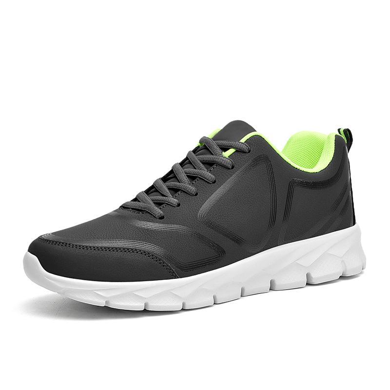 Hafif Nefes Mans Sneakers Spor Ayakkabı Moda Açık Ayakkabı Koşu Dantel-up