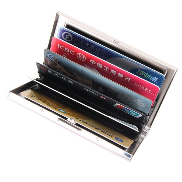 Gorgeous2019 Organ Steel Stainless Type Clip Bank Affairs Credit Box Business Card Package Can Tw2702.