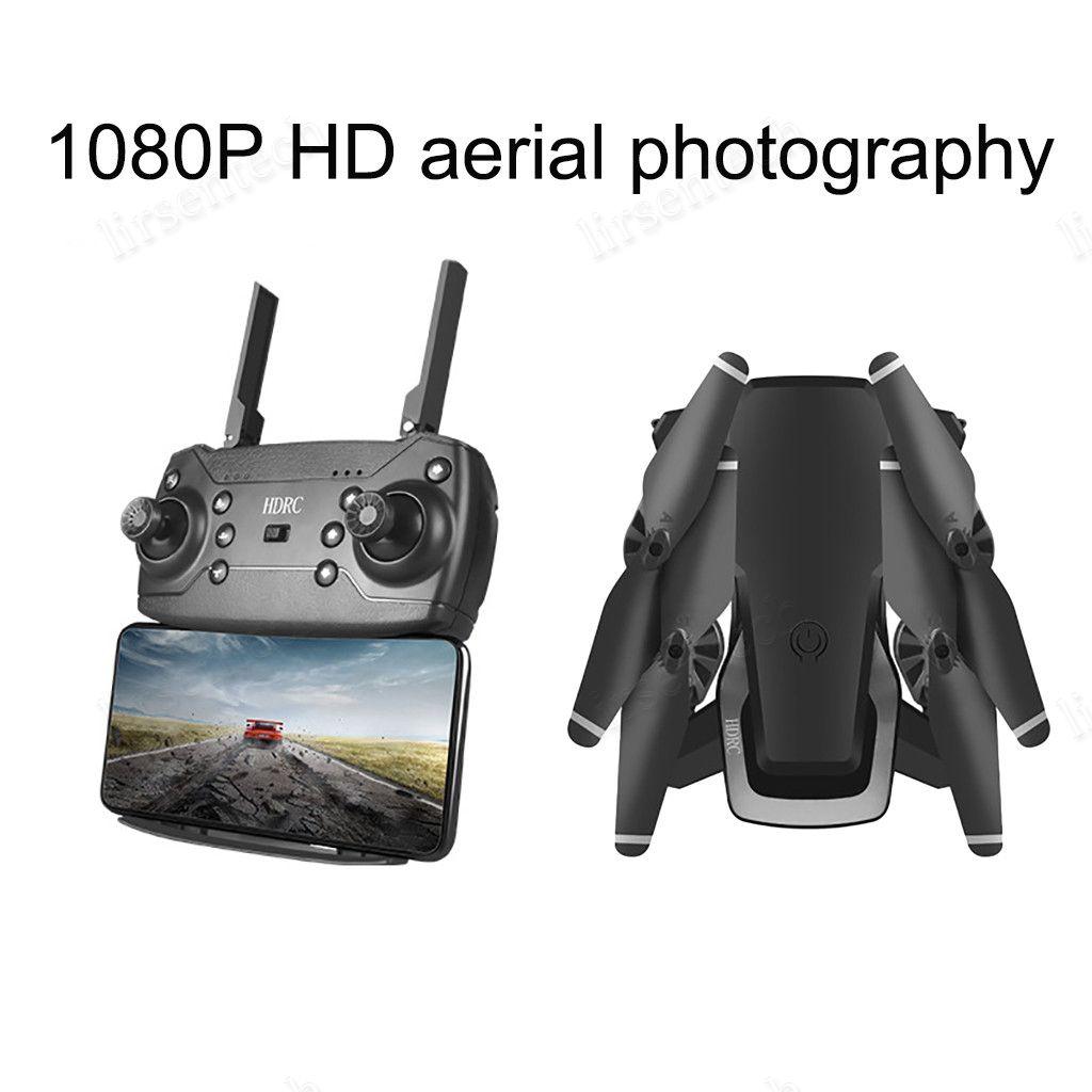 2020 HDRC D8 plegable WIFI 1080P cuatro ejes Drone cámara HD Quadcopter 20 minutos Duración del vuelo 6,6 nave 4K WIFI DHL