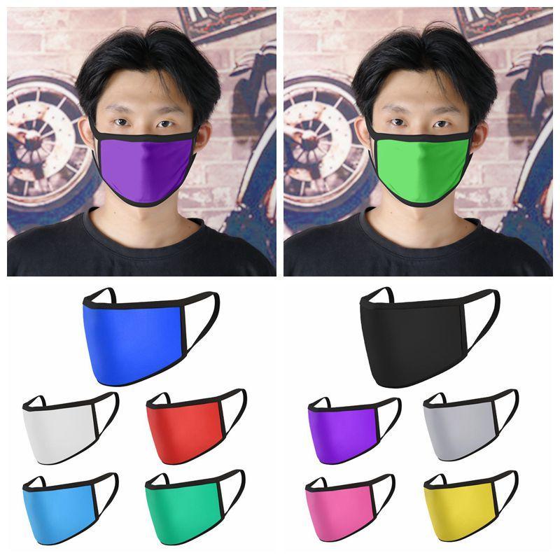 أقنعة الثلج الحرير تنفس الاطفال مكافحة الغبار الفم غط الكبار قابل للغسل قابلة لإعادة الاستخدام الوجه غير المتاح القطن مصمم قناع 10 الألوان CCA12079
