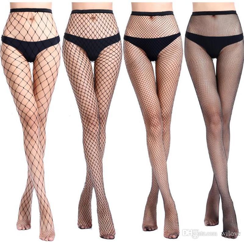Yeni Uyluk Yüksek Üst Çorap Noel Külotlu File çorap Hollow Hollow Külotlu Çorap Kırmızı Siyah Beyaz Satış En Yeni