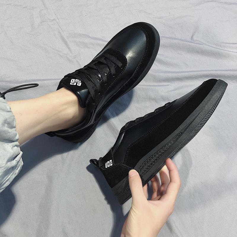 2019 Tendencia de Corea del estilo nuevo estilo de Verano skate zapatos de los hombres zapatos casuales de los hombres de moda versátil Sh lienzo