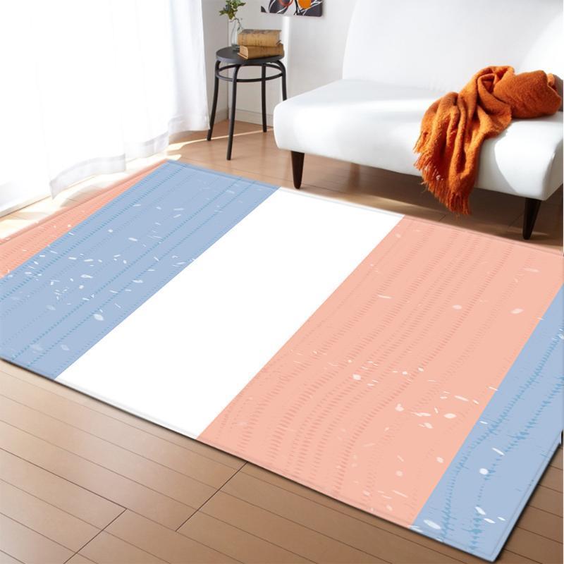 Fibra di poliestere Carpet Tappetino porta della camera Coperta Tapestry decorativo tappeto da salotto coperta di zona Decor