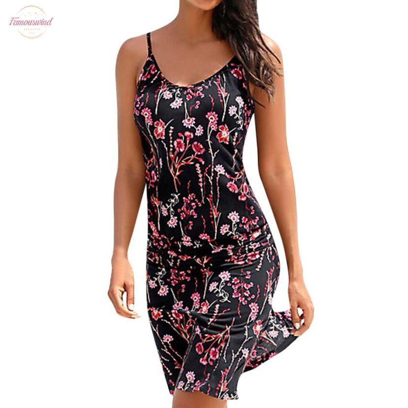 Lady Abiti Summer Beach Sundress floreale stampato Boho O collo maniche Midi Abiti Femininas Beachwear L
