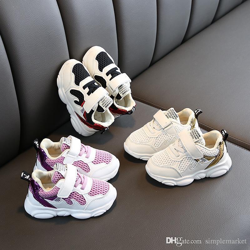 حذاء طفل رضيع فتاة أحذية الأطفال أحذية رياضية للأطفال تشغيل حذاء رياضة حذاء أحذية لحذاء مصمم الطفل حذاء رياضة طفل الطفل المدربين