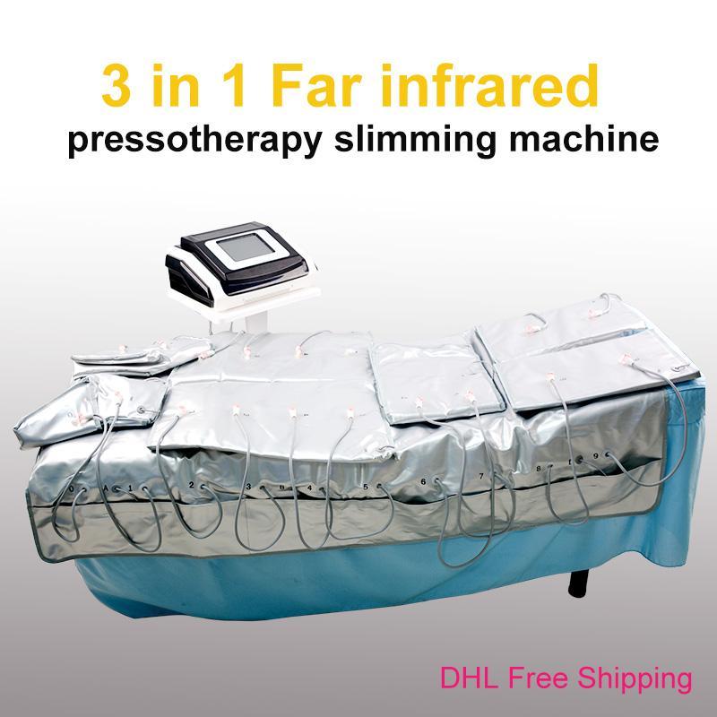 Prezzo di fabbrica!!! Best Selling infrarossi Pressotherapy Electro Pressotherapy disintossicazione Drenaggio linfatico Massaggi macchina di bellezza