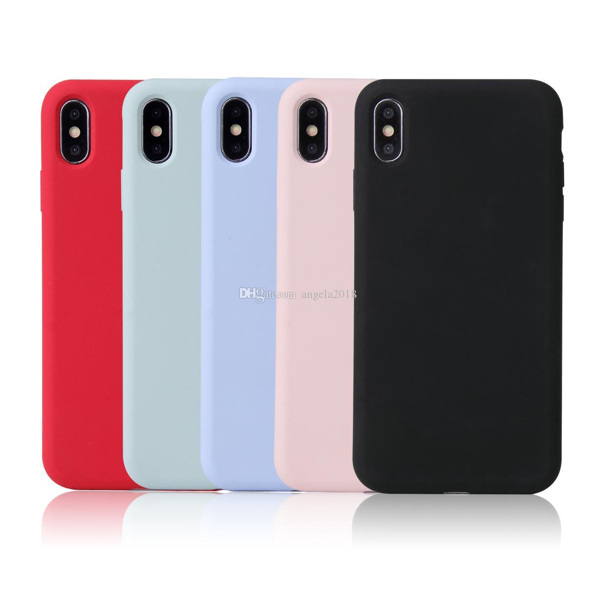 Di alta qualità per l'iPhone cassa del silicone di x xs xr 8 7 6 6s più la copertura del telefono del silicone per l'iphone 11 caso Pro max