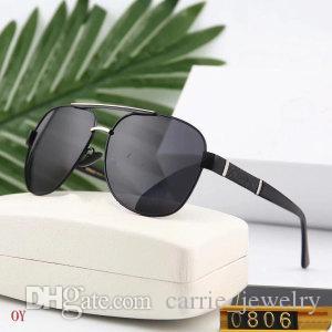 Herren-Sonnenbrillen für den Menschen UV400 Spiegel Adumbral Brille V0806 6 Farbe Optional hohem Grade Qualität mit Box