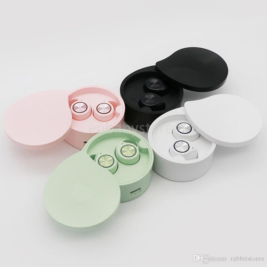 Android ile Şarj Kutusu İçin Bluetooth Kulaklık In-kulak Mini Kulaklık İçin Apple iPhone X 8 7