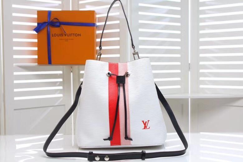2019 yeni moda deri çanta, tek omuz çantası, çift omuz çantası, model: M44021 boyutu: 26-26-17cm