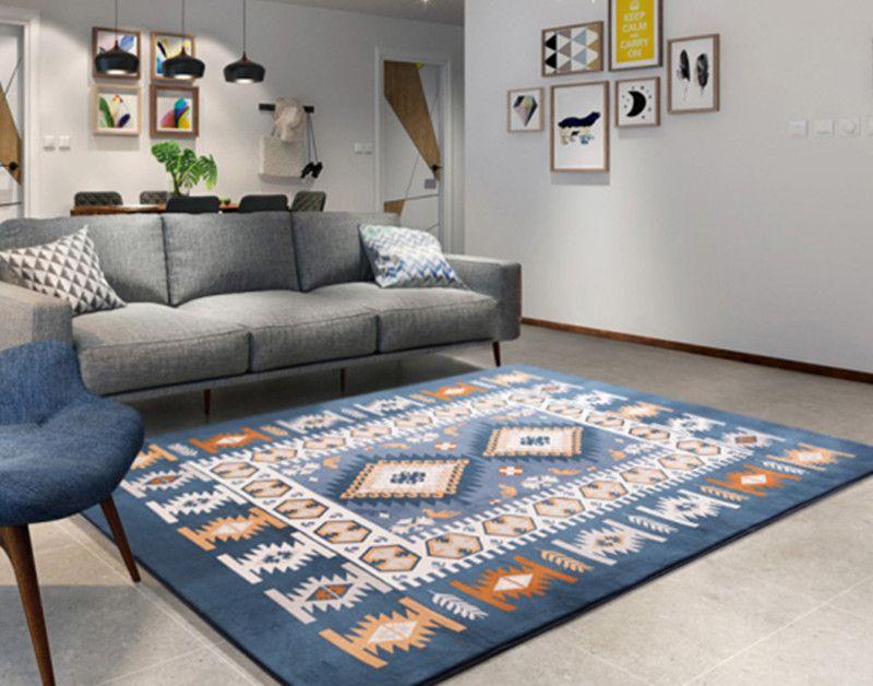 Großhandel Großer Teppich Wohnzimmer Schlafzimmer Teppich Schlafzimmer  Teppiche Teetisch Rechteckige Bodenmatte Sofa Kindertischdecke Tapete Von  ...