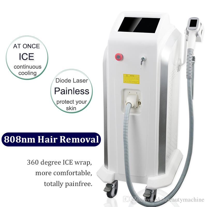 Skin Yag Laser Hair Removal Black Skin Permanent Diode Laser Hair