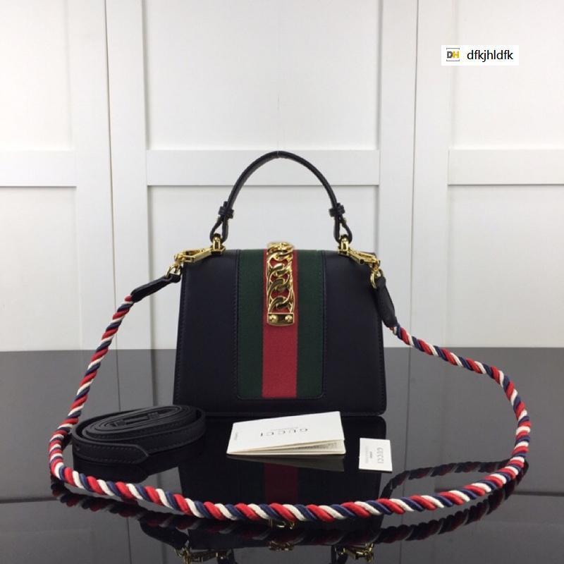 M470270 черный кожа цепь кроссбоди мешок женщин сумки знаменитой топ-ручки сумки плеча сумки креста тела сумка клатчи