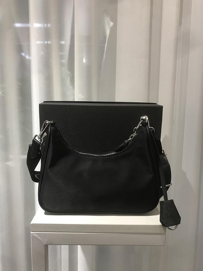 1 Naylon zincirinde 2020 moda çanta yüksek kaliteli mini torba çanta kadın çantası crossbody torba Mini Hobo 3