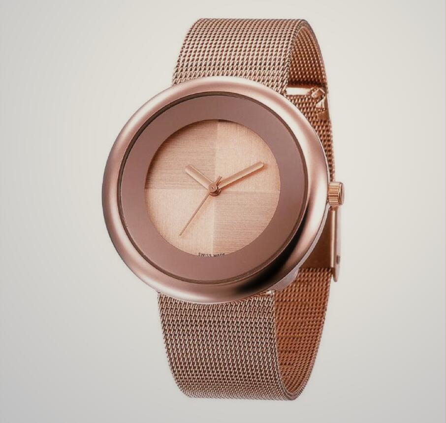 femme point chaud Montre 38MM or Casual Designer Fashion Luxury Lady montre-bracelet montre à quartz Relojes De Marca Mujer