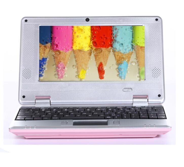 Netbook de 7 polegadas WIFI com linha mini computador notebook estudante