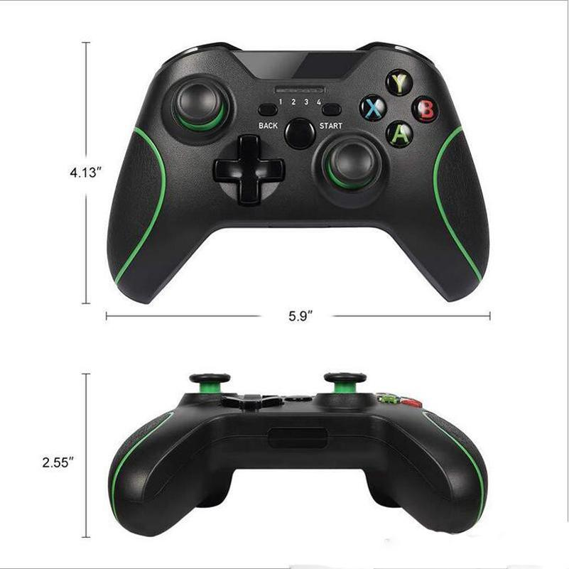 hot 2.4G Wireless Game Controller For Xbox ONE Bluetooth Gamepad Joystick Computer PC Joypad For steam Console With Retail Package