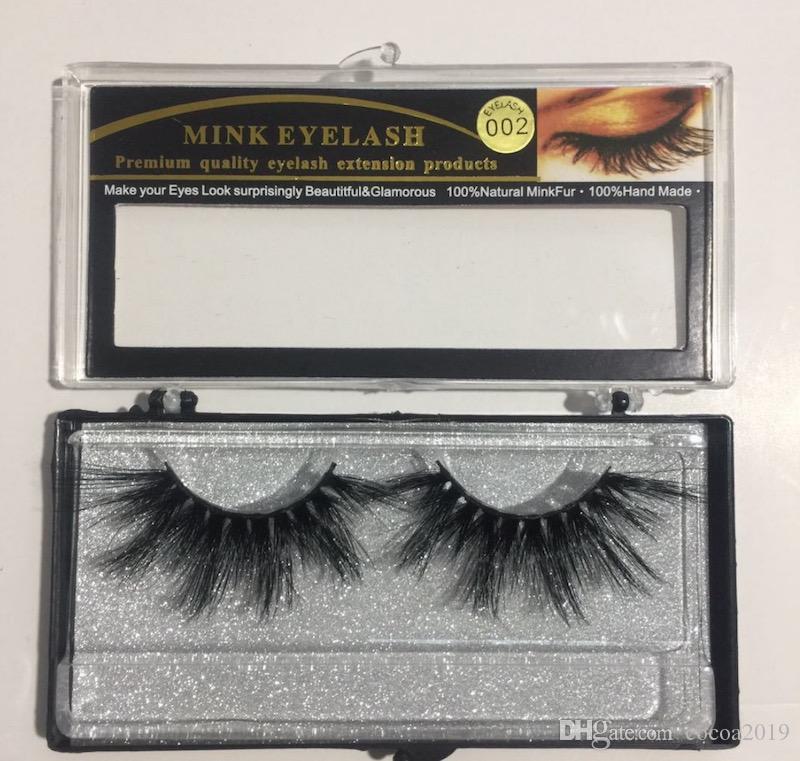25mm long mink eyelashes 6D large mink eyelashes false eyelashes 15 styles 10 sets free shipping