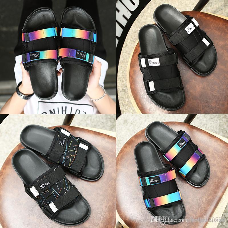 Дизайнерские тапочки мужские женские тканевые тапочки супер легкая супер мягкая дышащая обувь модные шлепанцы пляжные сандалии уличные тапочки