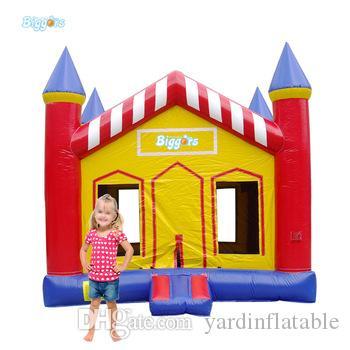 Commercial Grade Gonflable Trampoline Inflatable Bouncer Jumper Castle For Kids