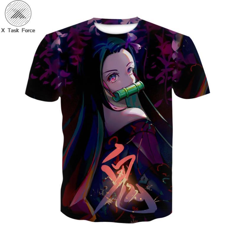 Verano de la serie de anime camisetas 3D informal camisetas Hip Hop tops y de caballero de las mujeres