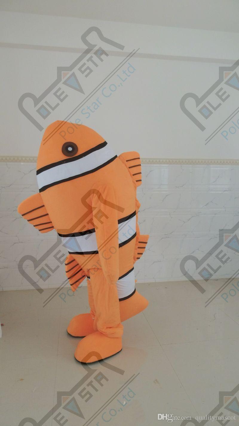 ازياء نيمو تعويذة كبيرة رغوة البرتقال الأزياء الأسماك الذهب الأسماك تصميم الساخن بيع الأسماك ازياء نجمة القطب التميمة