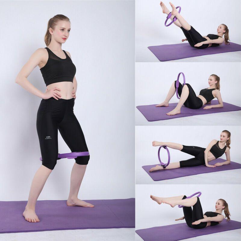 Kit de herramientas del anillo de Pilates Dual Grip círculo mágico Cuerpo Ejercicio del gimnasio del deporte de la aptitud Peso Yoga