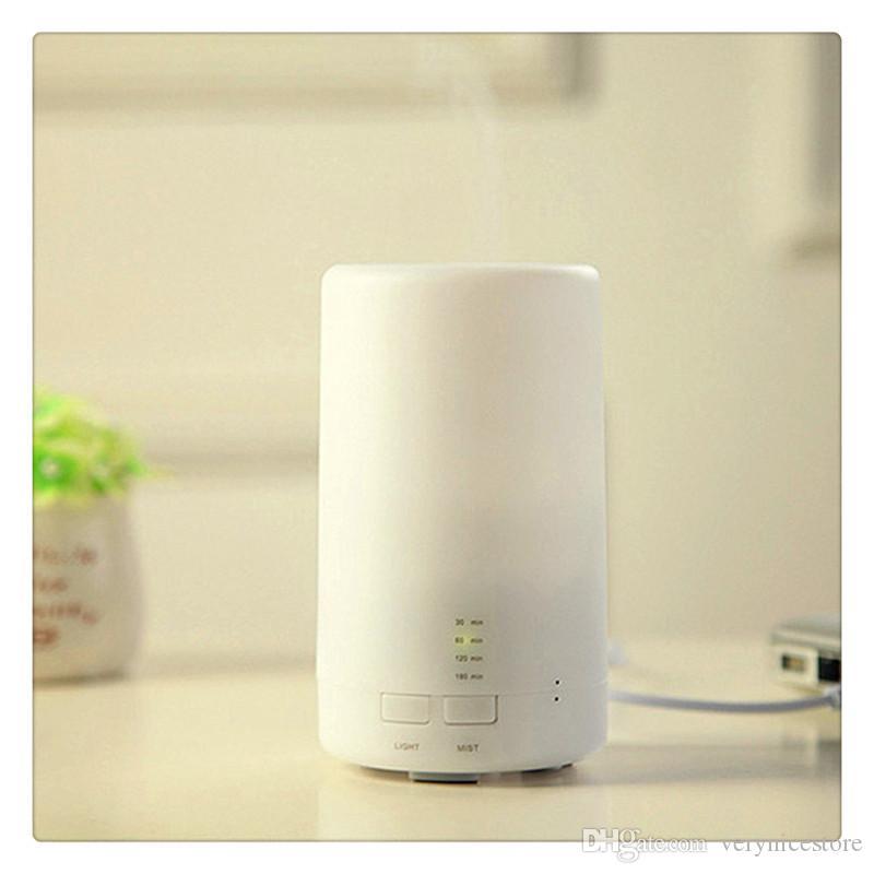 Ultraschall Luftnebel Aromatherapie Luftreiniger mit 3 Timer Modus LED Nachtlicht USB Lade Home Supplies