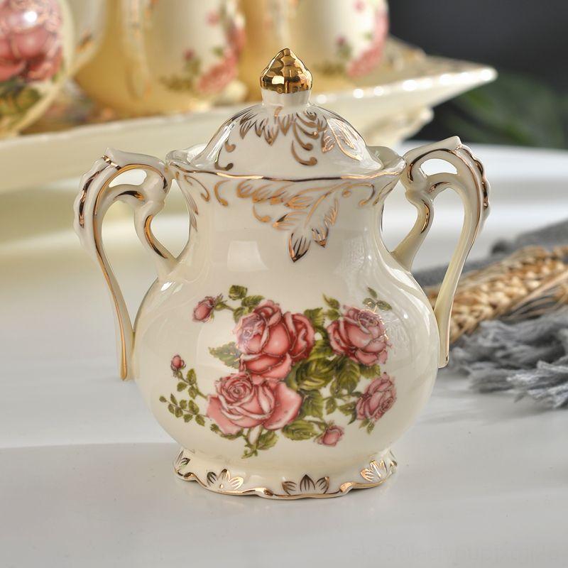 Ceramica Ciotola di zucchero sale Condimento vasetti da tavola di cucina, sala bar, cucina utensili Ceramica Ciotola di zucchero sale Condimento Vasi da tavola di K