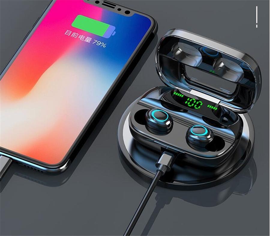 i12 tws Bluetooth 5.0 drahtlose Bluetooth-Kopfhörer unterstützen Steuerung Touch-Kopfhörer Pop-up-Fenster drahtlose Headset Ohr- hohe Qualität # OU3