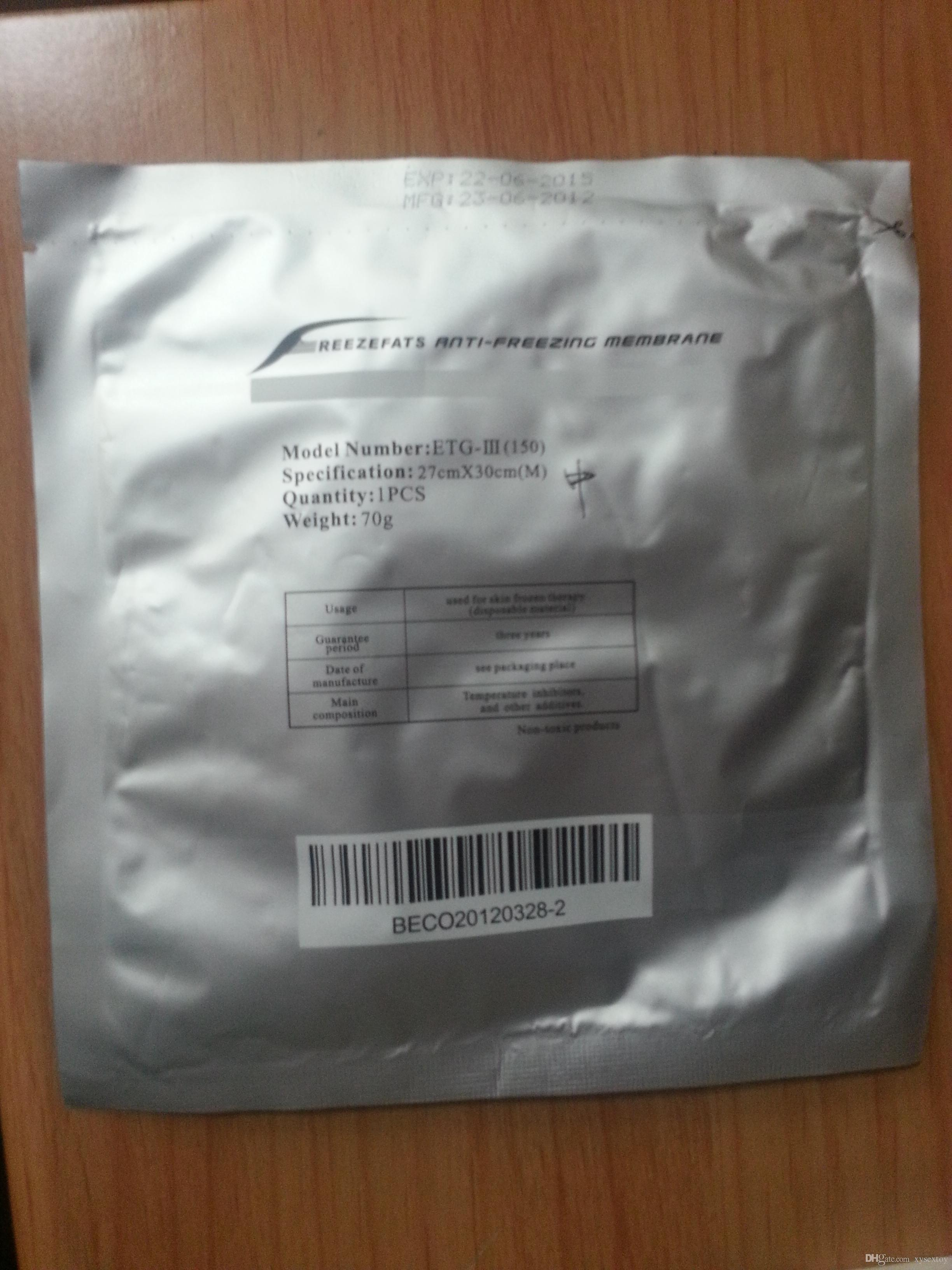 ¡Precio de fábrica de 252PCS los 34 * 42CM !!! Almohadilla anticongelante de membrana anticongelante de membrana anticongelante