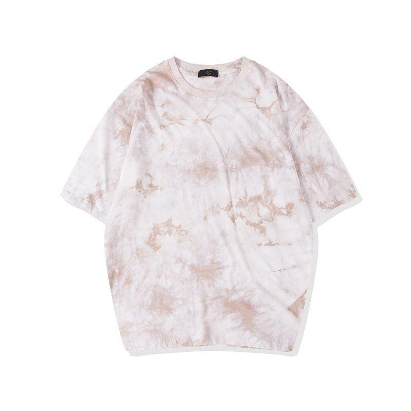 Mens Womens Tasarımcı Tişörtleri Paisley Baskı Kısa Kollu Ekip Boyun Tees Yaz Kazak Karışık Renk Rahat Giysiler