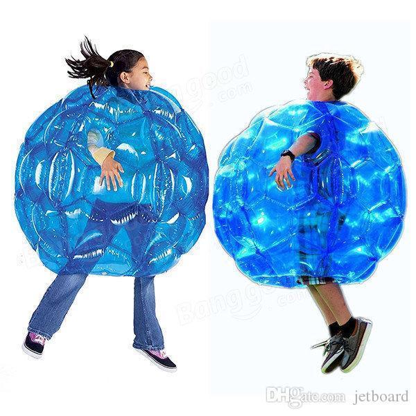 Nova chegada ao ar livre ferramenta de jogos inflável Corpo Autocolantes Balls PVC bolha de ar ao ar livre Crianças Adulto jogo de futebol de futebol