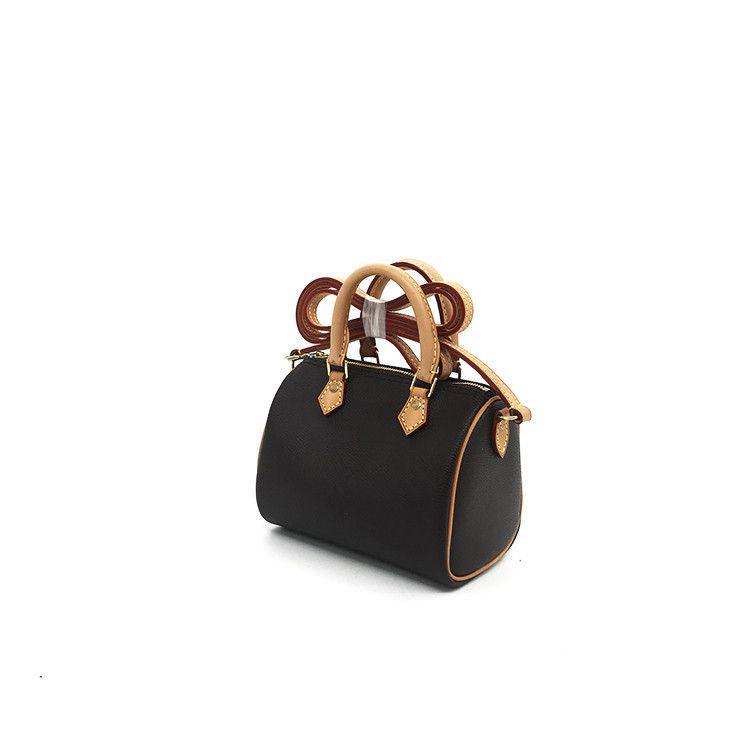 Холст оптом кошелек мода леди бренда мешок сумка для телефона мешок кожаный петчелетная сумка для плеч нано окисление подушки MHUGQ