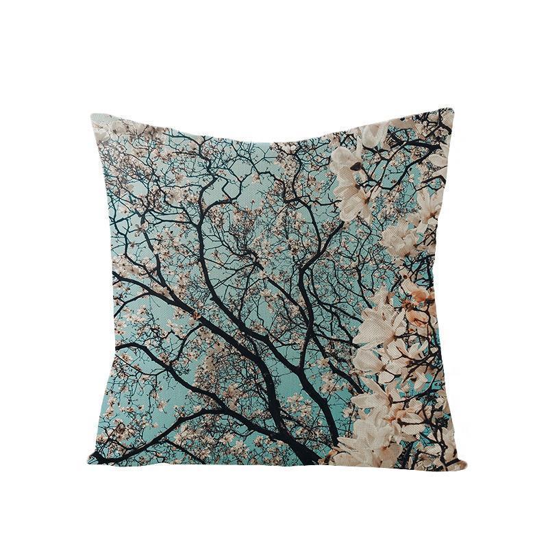 Avrupa Stili Ev Dekorasyonu 3D Çiçek Yastık Kapak Gül Çiçek Anneler Günü için divan Akdeniz tarzı yastık için yastık atmak