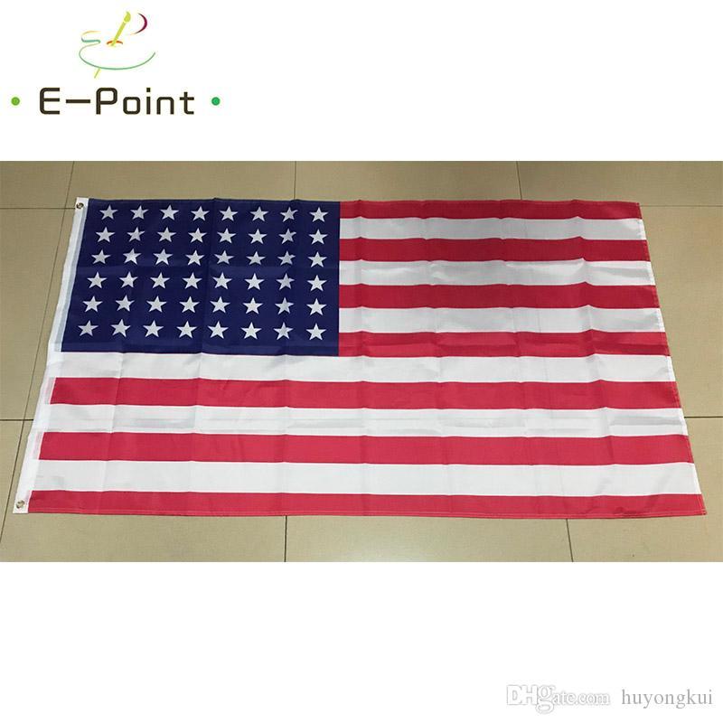 48 звезда старая Слава американский флаг 3*5 футов (90 см*150 см) полиэстер флаг баннер украшения летающий дом сад флаг праздничные подарки