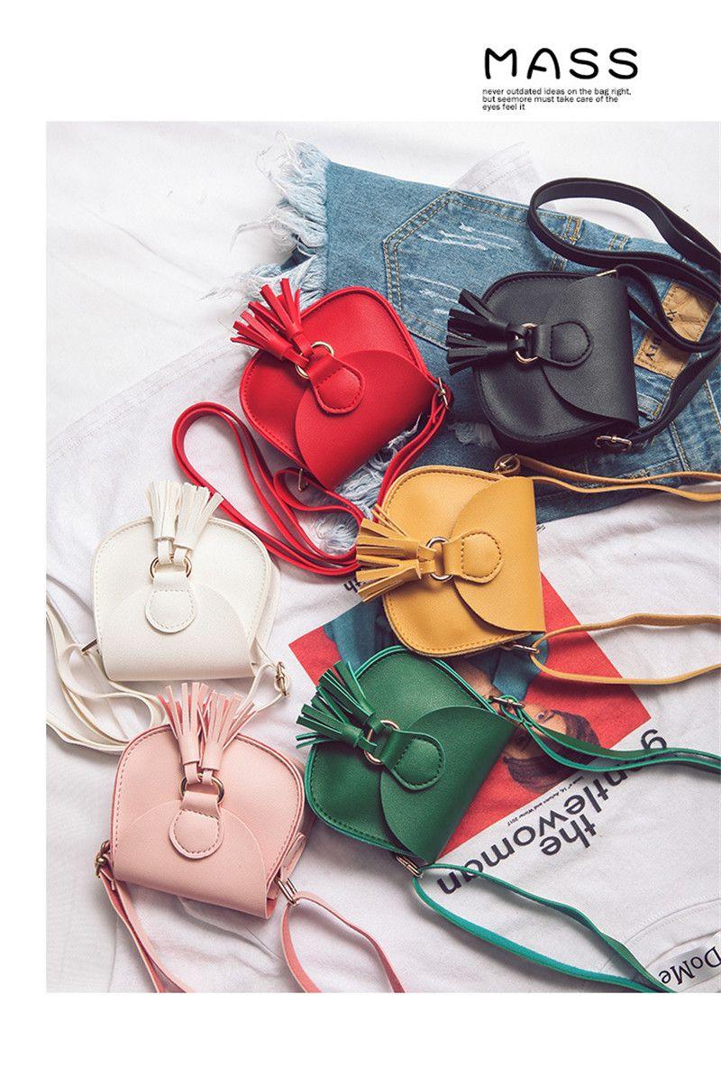 Crianças mini bolsas de ombro meninas meninas mensageiro messenger festa acessório pu pano dos desenhos animados bonito unicron crossbody saco bd0079 cor gir