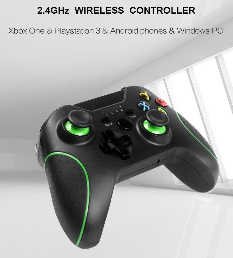 لأجهزة إكس بوكس واحد PS3 PC الروبوت لعبة 2.4GHz اللاسلكية المراقب المالي، المراقب عن بعد غمبد المالي Joypad، وحدة التحكم المقود، دي إتش إل الحرة