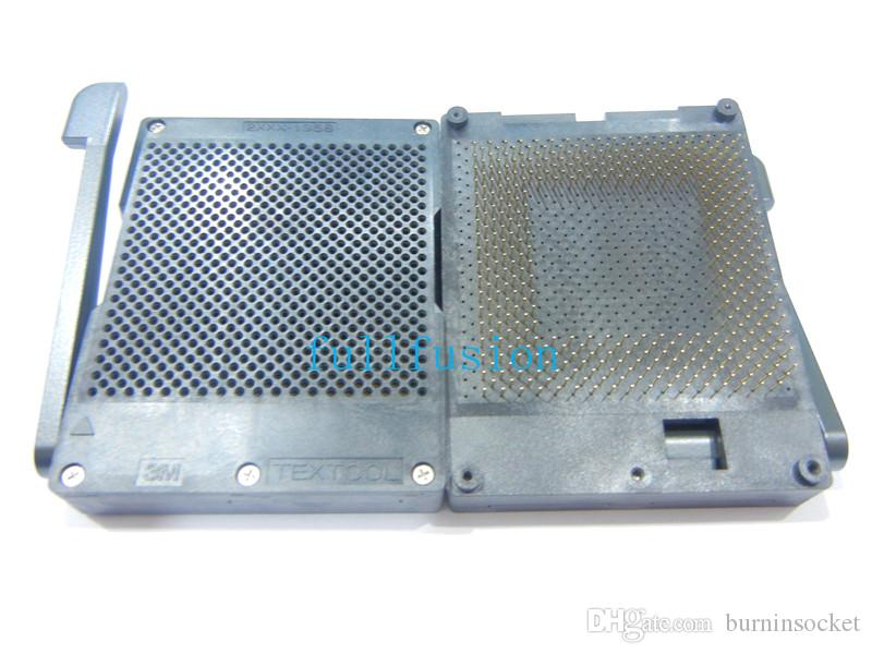 2391-1358-50-1902 3 M Textool PGA391 Soket 1.27mm Pitch IPGA391 sokette yanma