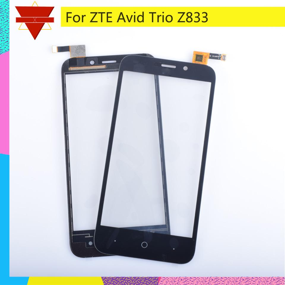 2019 Touch Screen Digitizer For ZTE Avid Trio Z833 Touch Panel Touchscreen  Lens Front Glass Sensor NO LCD Z833 Replacement From Aralia, $55 66 |