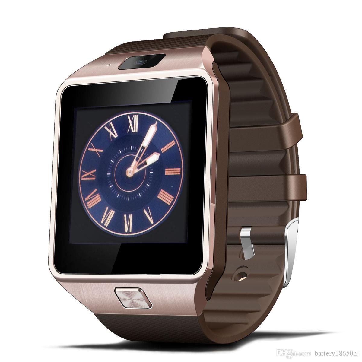 DZ09 smartwatch android GT08 U8 A1 samsung akıllı saatler SIM Akıllı cep telefonu izle uyku durumunu kaydedebilirsiniz Akıllı izle