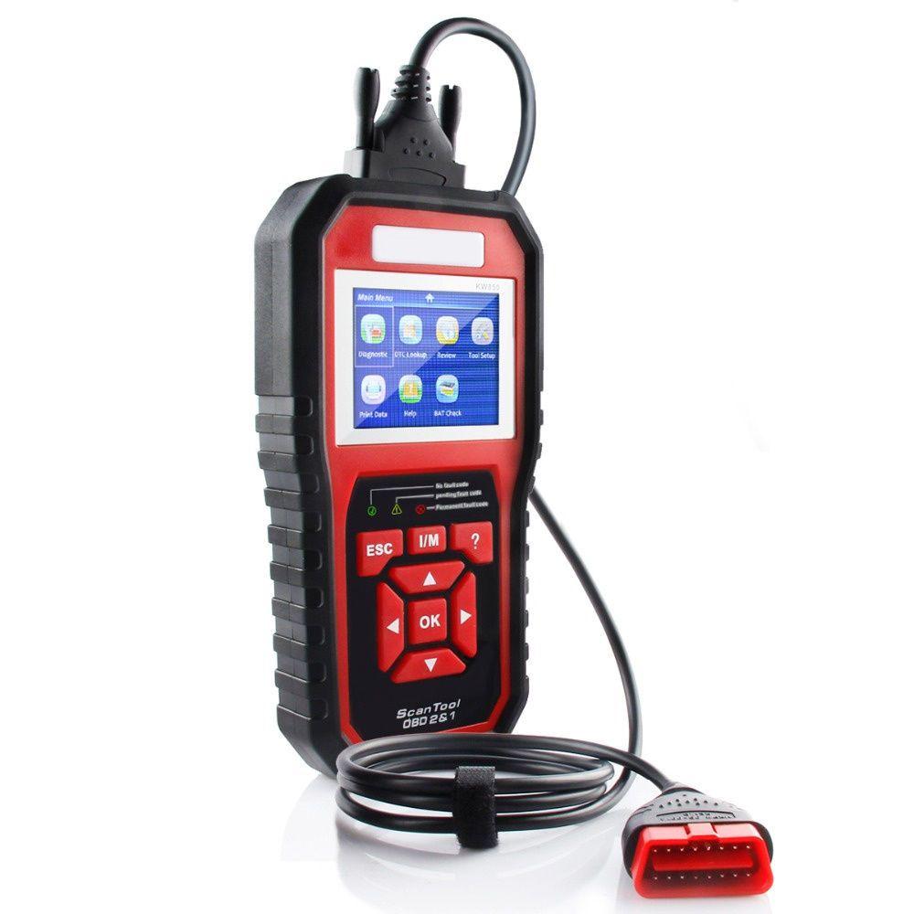 Neue OBD OBD2 Auto Selbstdiagnosescanner Codeleser KW850 Autodiagnosewerkzeug