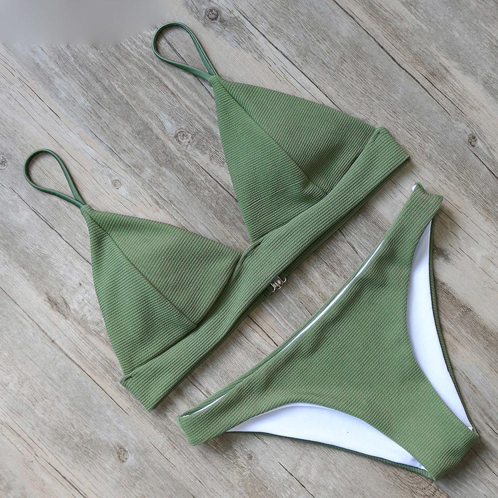 Traje de baño caliente atractivo del diseñador brasileño de baño bikini traje de baño de las mujeres empuja hacia arriba el vendaje Natación traje de baño ropa de playa Mujer con el cojín