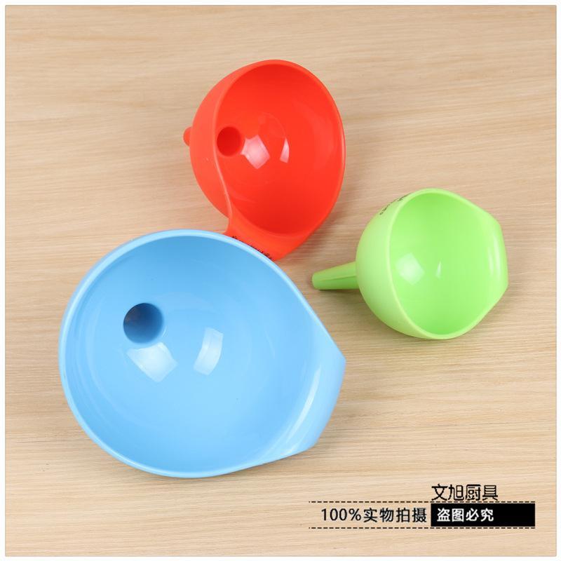 8см Пластиковая воронка Материал Облегчить наполнение Бытовая воронка Кухонные принадлежности Многоцветный Дополнительно