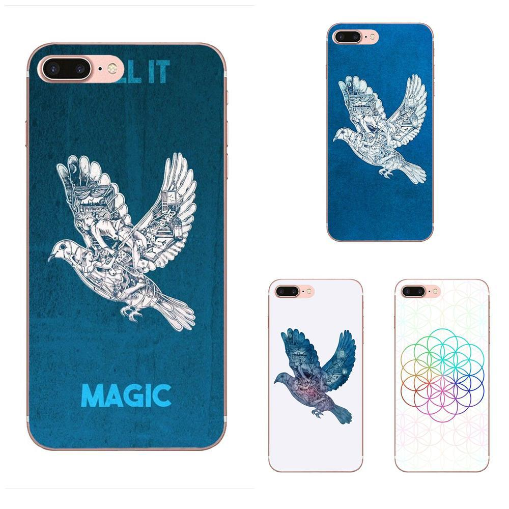 Custom TPU Pattern Pink Ghost Stories Coldplay Lovely For Huawei ...