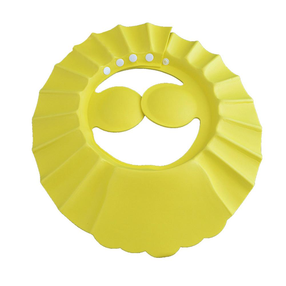 Vendita calda Soft Baby Shampoo regolabile Bagno Cuffia per doccia Shampoo per bambini a Baby Shower Hat Bambino Bathing Cap Bath Visor