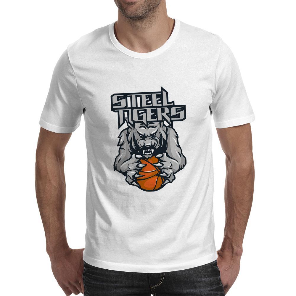 Top Fashion Street divertente maglietta della roccia di modo della maglietta della novità di stile creativo delle signore degli uomini di