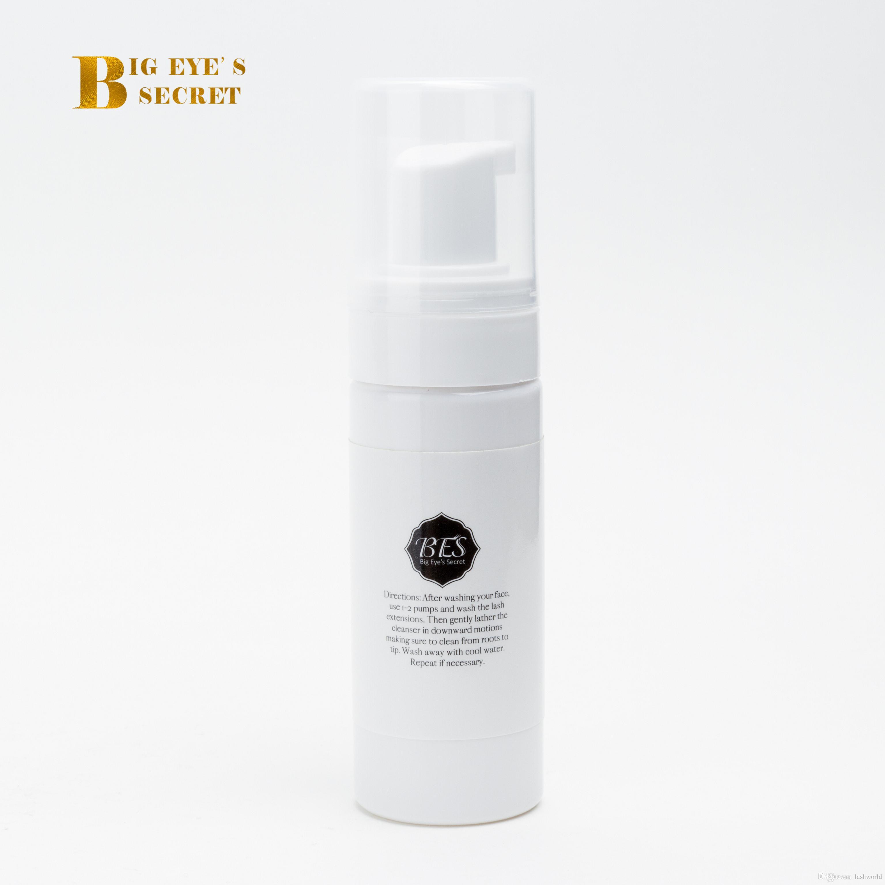Big Eye Secret رمش المطهر 50ML ساكورا رائحة أدوات ماكياج رمش تمديد السائل نظيفة للرموش شحن مجاني
