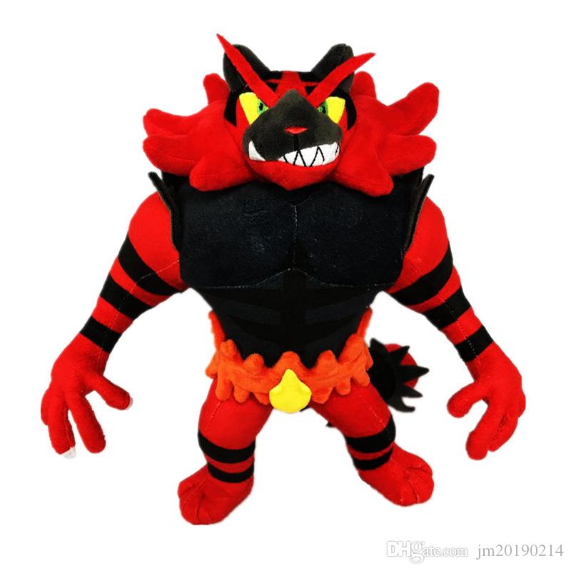 New Toy Incineroar Soft-Puppe-Plüsch-Spielzeug für Kinder Weihnachten Halloween beste Geschenke 13.7inch 35cm
